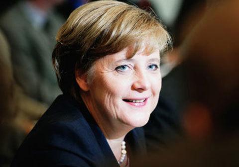 """""""Người đàn bà thép"""" Angela Merkel."""