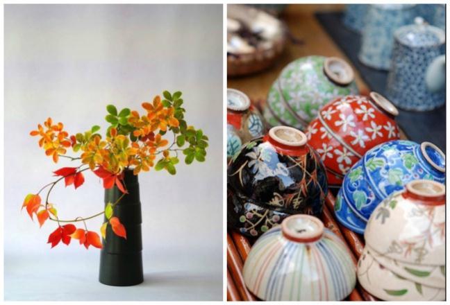 Tokonoma, một góc nhỏ hơi thụt vào trong phòng khách nơi để trưng bày những nét nghệ thuật Nhật Bản như tranh thư pháp, đồ gốm sứ, bình hoa,...