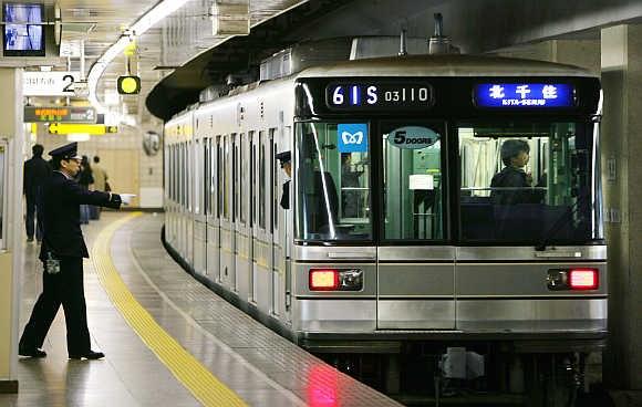 Tàu điện – Phương tiện giao thông được ưa chuộng nhất tại Nhật Bản (Nguồn: Internet)