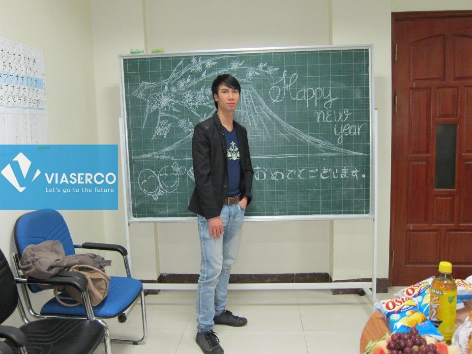 Chia tay các bạn nhập học khóa tháng 1 – 2013
